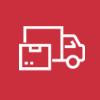 truck icon image for Sologistx specialized logistics services company