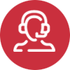 Headset Icon for Sologistx specialized logistics services company