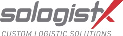 Sologistx logo for logistics management company